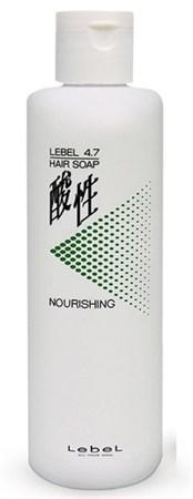 Lebel рH 4.7 Hair Nourishing Soap - Шампунь жемчужный для окрашенных волос 400мл - фото 4981