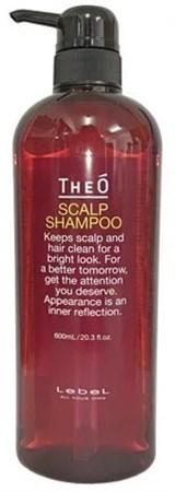 Lebel Theo Scalp Shampoo - Шампунь от выпадения волос для мужчин 600мл - фото 5015