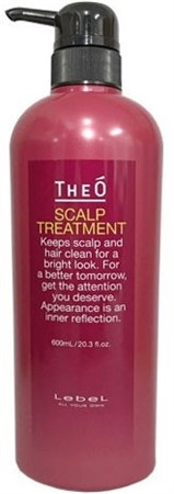 Lebel Theо Scalp Treatment - Крем уход для кожи головы и волос 600мл - фото 5020