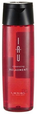 Lebel IAU Cleansing Relaxment - Аромашампунь расслабляющий для сухой кожи головы 200мл - фото 5052