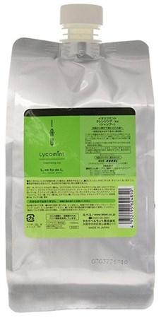Lebel IAU Lycomint Cleansing ICY - Шампунь 1000мл охлаждающий антиоксидантный - фото 5074