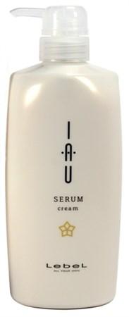 Lebel IAU Serum Cream - Аромакрем 600мл для увлажнения и разглаживания волос - фото 5076