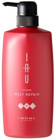 Lebel IAU Cream Melt Repair - Крем 600мл тающей текстуры для увлажнения - фото 5082
