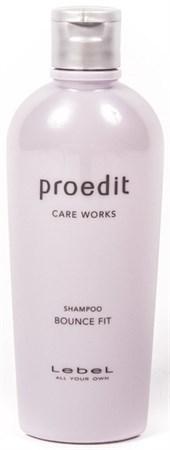 Lebel Proedit Care Works Bounce Fit Shampoo - Шампунь 300мл для мягких волос - фото 5156