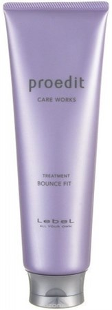 Lebel Proedit Care Works Bounce Fit Treatment - Маска 250мл для мягких волос - фото 5169