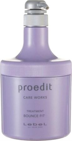 Lebel Proedit Care Works Bounce Fit Treatment - Маска 600мл для мягких волос - фото 5170