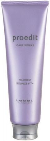 Lebel Proedit Care Works Bounce Fit Plus Treatment - Маска 250мл для мягких очень поврежденных волос - фото 5172