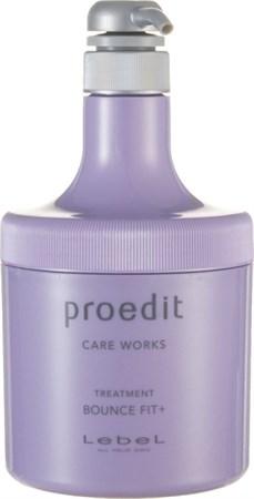Lebel Proedit Care Works Bounce Fit Plus Treatment - Маска 600мл для мягких очень поврежденных волос - фото 5173