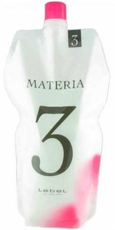 Lebel Materia Oxy 3% - Оксидант для смешивания с краской Materia 1000 мл - фото 5385