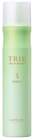 Lebel Trie Powdery Spray 5 - Спрей-пудра с матирующим эффектом 170гр - фото 5581