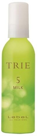 Lebel Trie Milk 5 - Молочко для укладки волос средней фиксации 140гр - фото 5582