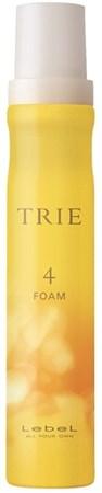 Lebel Trie Foam 4 - Пена для укладки волос 200мл - фото 5583