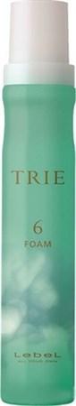 Lebel Trie Foam 6 - Пена для укладки волос средней фиксации 200мл - фото 5584