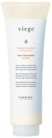 Lebel Viege Treatment VOLUME - Маска для объема волос 240мл - фото 5595