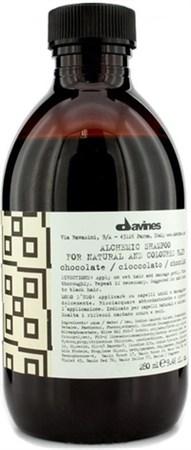 Davines Alchemic Shampoo for natural and coloured hair (chocolate) - Шампунь Алхимик 280мл для натуральных и окрашенных волос (шоколад) - фото 5601