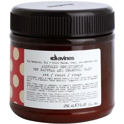 Davines Alchemic Conditioner for natural and coloured hair (red) - Кондиционер Алхимик 250мл для натуральных и окрашенных волос (красный) - фото 5612