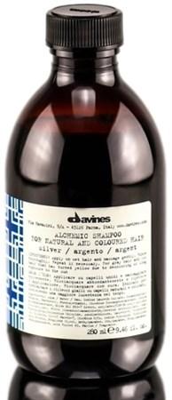 Davines Alchemic Shampoo for natural and coloured hair (silver) - Шампунь Алхимик 280мл для натуральных и окрашенных волос (серебряный) - фото 5613
