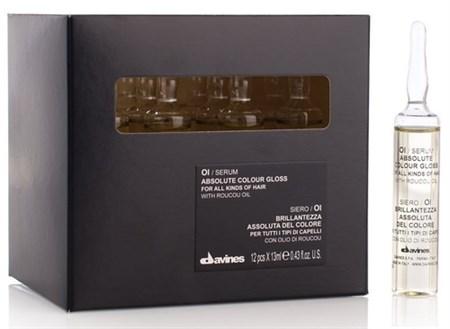 Davines Essential Haircare OI/Serum Absolute beautifying potion - Сыворотка 12х13мл для абсолютного блеска окрашенных волос - фото 5627