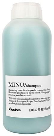 Davines Essential Haircare MINU Shampoo - Шампунь 1000мл для защиты цвета волос - фото 5637