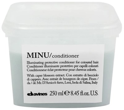 Davines Essential Haircare MINU Conditioner -  Кондиционер 250мл для сохранения цвета волос - фото 5638