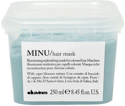 Davines Essential Haircare MINU Hair Mask - Маска 250мл восстанавливающая для окрашенных волос - фото 5640