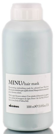 Davines Essential Haircare MINU Hair Mask - Маска 1000мл восстанавливающая для окрашенных волос - фото 5641