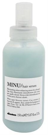 Davines Essential Haircare MINU Hair Serum - Сыворотка несмываемая 150мл для окрашенных волос - фото 5642