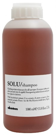 Davines Essential Haircare Solu Refreshing Solution shampoo - Шампунь освежающий для глубокого очищения волос 1000мл - фото 5649