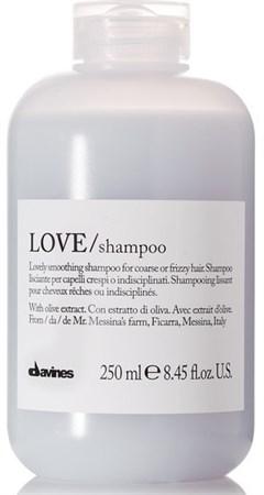 Davines Essential Haircare Love Lovely smoothing shampoo - Шампунь для разглаживания завитков 250мл - фото 5656