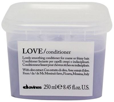 Davines Essential Haircare LOVE Lovely smoothing conditioner - Кондиционер разглаживающий завиток 250мл - фото 5658