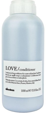 Davines Essential Haircare LOVE Lovely smoothing conditioner - Кондиционер разглаживающий завиток 1000мл - фото 5659