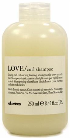 Davines Essential Haircare LOVE Lovely curl enhancing shampoo - Шампунь усиливающий завиток 250мл - фото 5661