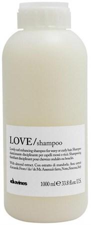 Davines Essential Haircare LOVE Lovely curl enhancing shampoo - Шампунь усиливающий завиток 1000мл - фото 5662