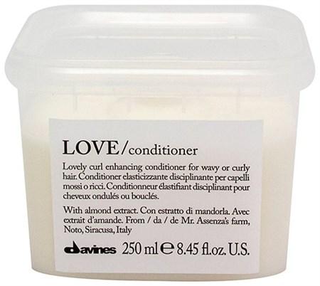 Davines Essential Haircare LOVE Lovely Curl Enhancing Conditioner - Кондиционер усиливающий завиток 250мл - фото 5663