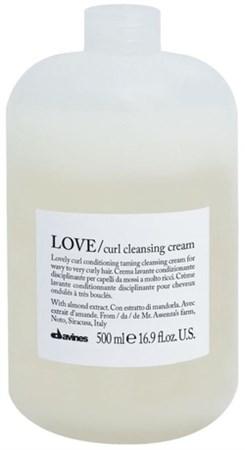 Davines Essential Haircare LOVE Curl Cleansing Cream - Очищающая пенка крем для усиления завитка 500мл - фото 5667