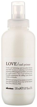 Davines Essential Haircare LOVE Curl Primer - Праймер для усиления завитков 150мл - фото 5668