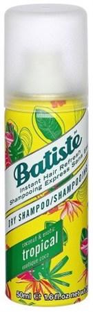 Batiste Dry shampoo Coconut & Exotic Tropical - Сухой Шампунь Батист экзотические фрукты 50мл - фото 5684