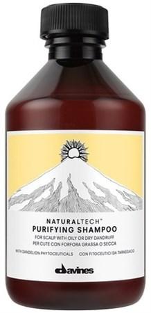 Davines New Natural Tech Purifying Shampoo - Шампунь очищающий против перхоти 250мл - фото 5731
