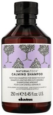 Davines New Natural Tech Calming Shampoo - Шампунь успокаивающий для чувствительной кожи головы 250мл - фото 5747