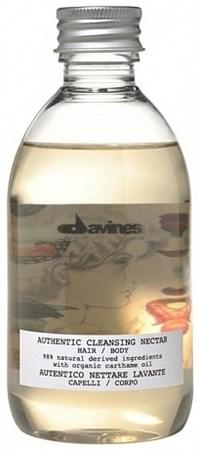 Davines Authentic Formulas Cleansing nectar hair/body - Нектар очищающий для волос и тела 280 мл - фото 5755