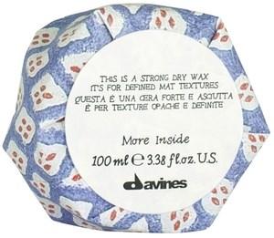 Davines More inside Strong Dry Wax - Сухой воск для текстурных матовых акцентов 100мл - фото 5780