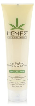 Hempz Age Defying Herbal Body Scrub - Скраб для тела Антивозрастной 265гр - фото 5832