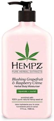 "Молочко ""Hempz Blushing Grapefruit Raspberry Moisturizer Грейпфрут и малина"" 500мл для тела - фото 5837"