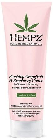 "Кондиционер ""Hempz Blushing Grapefruit & Raspberry Creme In Shower"" 250мл для душа грейпфрут и малина - фото 5838"