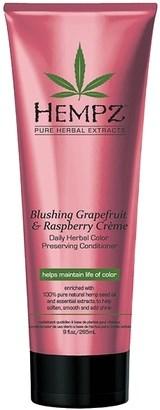 Hempz Blushing Grapefruit & Raspberry Creme Conditioner - Кондиционер растительный Грейпфрут и Малина для сохранения цвета и блеска окрашенных волос 265мл - фото 5840