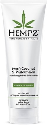 "Гель ""Hempz Fresh Coconut & Watermelon Herbal Body Wash Кокос и арбуз"" 250мл для душа - фото 5859"