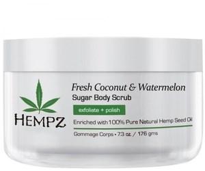 Hempz Fresh Coconut & Watermelon Sugar Body Scrub - Скраб для тела Кокос и Арбуз 176гр - фото 5860