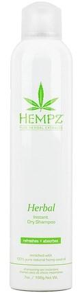 Hempz Herbal Instant Dry Shampoo - Сухой растительный шампунь 198гр - фото 5866