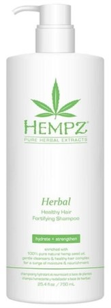 Hempz Herbal Healthy Hair Fortifying Shampoo - Шампунь растительный укрепляющий здоровые волосы 750мл - фото 5868