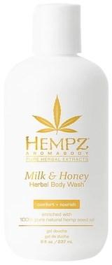 Hempz Milk & Honey Herbal Body Wash - Гель для душа Молоко & Мёд 237мл - фото 5871